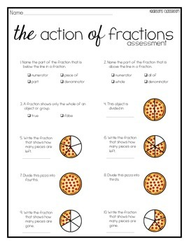 Fractions Assessment