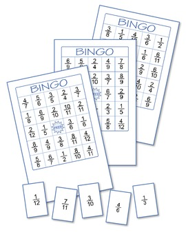 Fractions Bingo 1