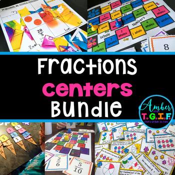 Fractions Centers Bundle