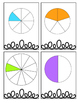 Fractions Math Game Center Sort