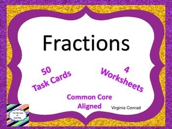 Fractions--Common Core--Third Grade