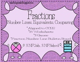 Fractions~ Comparing, Equivalents and Number Lines