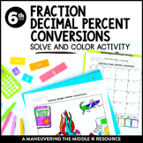 Fraction Decimal Percent Conversions