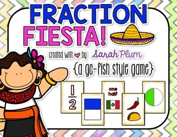 Fraction Fiesta! {A Go Fish!-Style Fractions Game}