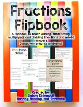 Fractions Flipbook