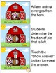 Fractions Game - Farm Animals Theme for Smartboards and Al