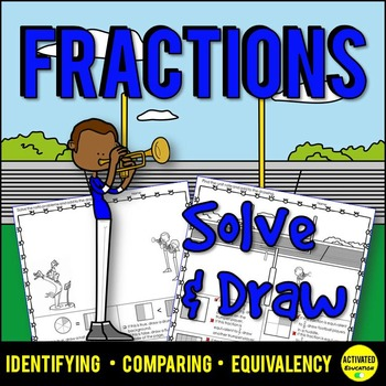 Fractions Practice: Identify, Compare, Equivalent Fractions