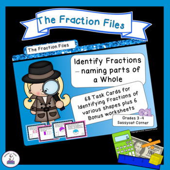 Fractions - Identify Fractions as Parts of a Whole Shape -
