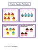 Fractions 2nd Grade:  Fraction Cupcake Activities CCSS
