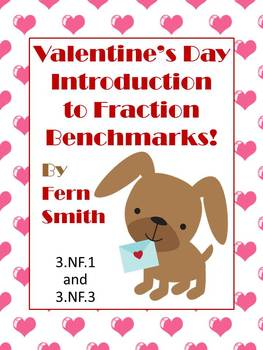 St. Valentine's Day Introduction to Fractions Center Games