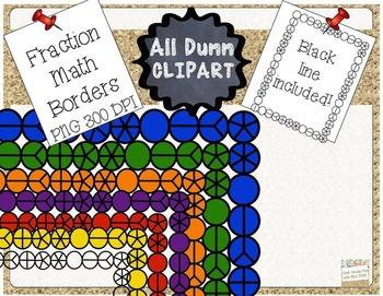 Fractions Math Borders