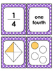 Fractions Math Center: Match it Up