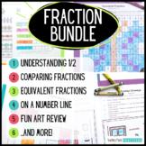 Fractions Mega Bundle - Comparing Fractions, Equivalent Fr