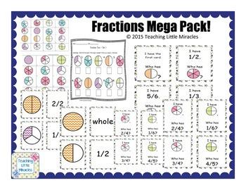 Fractions Mega Pack!