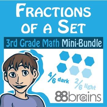Fractions Mini-Bundle: Fractions of a Set & Estimate Part