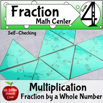 Fractions : Multiplication of a Fraction by a Whole Number