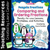 Comparing Fractions - Penguin Version