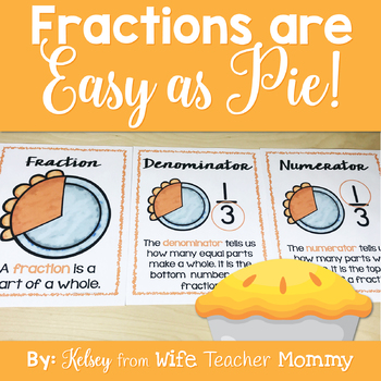 Thanksgiving Fractions Worksheets
