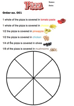 Fractions Pizza Assessment