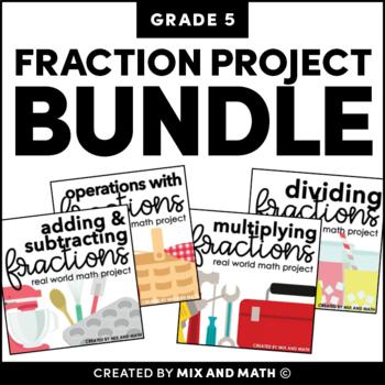 Fractions Project Bundle