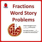 Fractions Word Problems - 4th Grade, 5th Grade