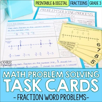 Fractions - Write To Explain Math Task Cards