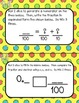 Fractions and Decimals Dice Activity Task Cards