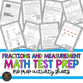 Fractions and Measurement, Math Study Guide, Standardized