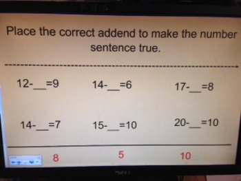 Fractions and Missing Addends