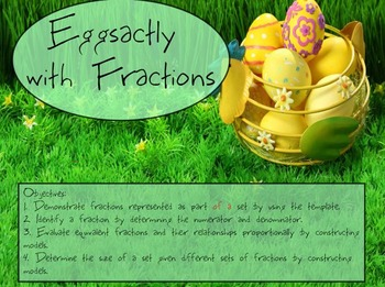 Fractions and Ratios: Building the Concept with Eggs!