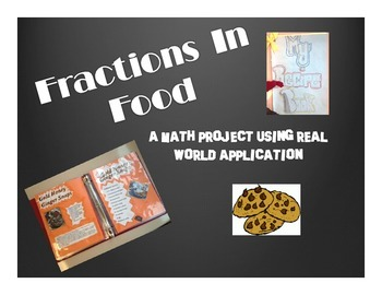 Fractions in Food Recipe Book - Multiplying and Dividing F