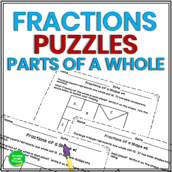 Fractions of a Shape: Critical-Thinking in Math
