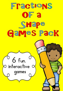 Fractions of a Shape Games Pack