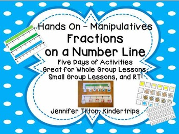 Fractions using a Number Line Kit - Hands-On with Manipulatives