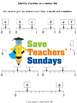 Fractions on a Number Line Worksheets (3 levels of difficulty)
