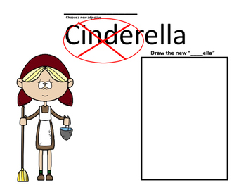 Fractured Fairy Tales:  Cinderella