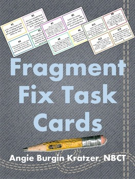 Fragment Fix Task Cards