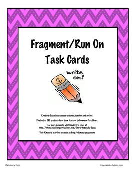 Fragment and Run On Teach and Reach Bundle