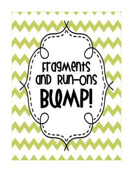 Fragments and Run-Ons BUMP!