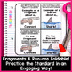 Fragments and Run-on Sentences Week Long Lessons! Common C