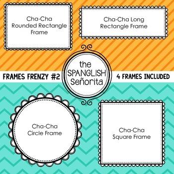Frame Frenzy #2 {Digital Clip Art for Commercial Use}