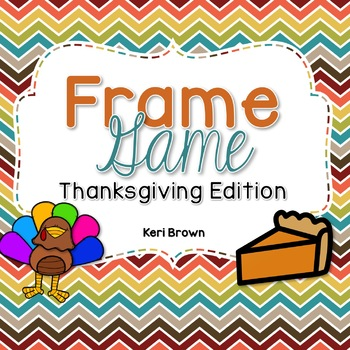 Frame Game Thanksgiving Edition