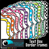 Patterned Frames Clip Art