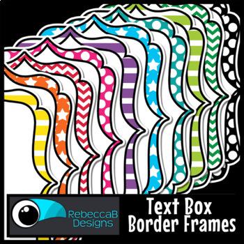 Patterned Frames Clip Art