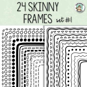 Skinny Frames Set #1