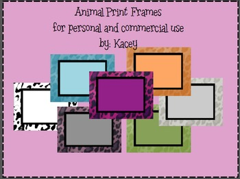 Frames-Animal Print (Please Rate)