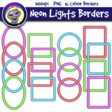 Neon Lights Frames Borders