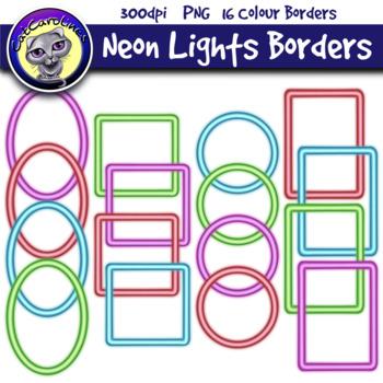 Frames / Borders Neon Lights
