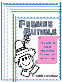 Frames Bundle in PNG format