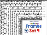 Frames Clip Art Set 9 - Whimsy Workshop Teaching
